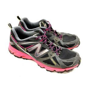 New Balance 610 V3 Trail Running Womens Black Pink